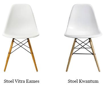 Louwers vernietigend over namaakdesign van kwantum louwers for Eames stuhl kopie